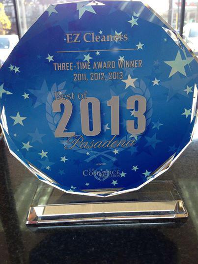 EZ Cleaners Award