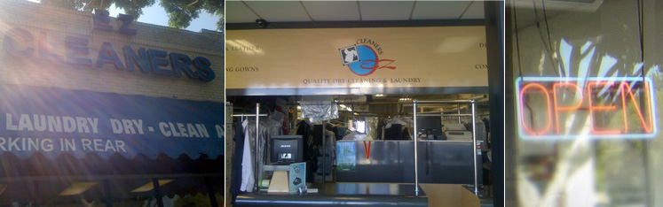 EZ Cleaners first store